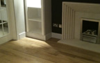 Basingstoke - laminate floor and bespoke skirting and architraving